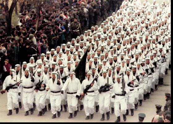 Арабы-моджахеды в Боснии